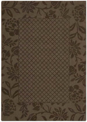 Nourison Barcelona Bar03 Chocolate Area Rug