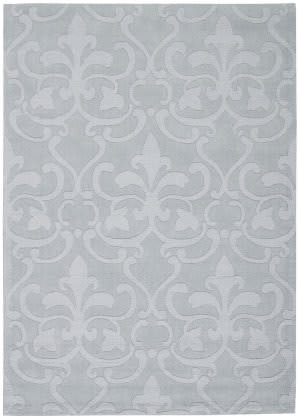 Nourison Barcelona Bar04 Light Blue Area Rug