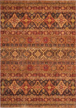 Nourison Vintage Tradition Vgt03 Blue - Red Area Rug