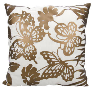 Nourison Luminescence Pillow Bt001 Copper