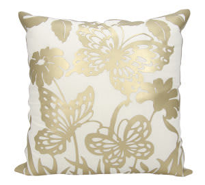 Nourison Luminescence Pillow Bt001 Gold