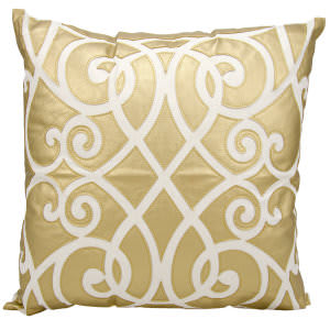 Nourison Pillows Luminescence Bt211 Gold