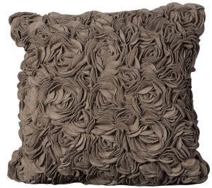 Nourison Mina Victory Pillows Felt C5001 Light Brown
