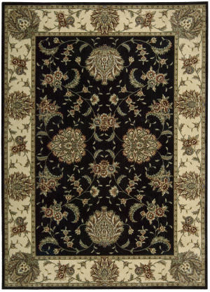 Nourison Cambridge CG-02 Black Area Rug