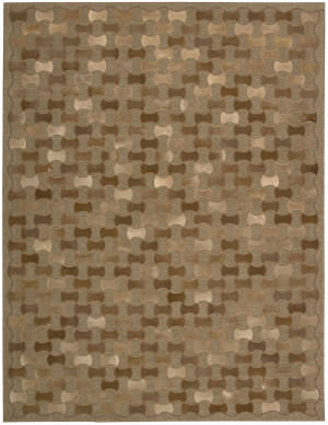 Joseph Abboud Chicago Chi01 Brown Area Rug