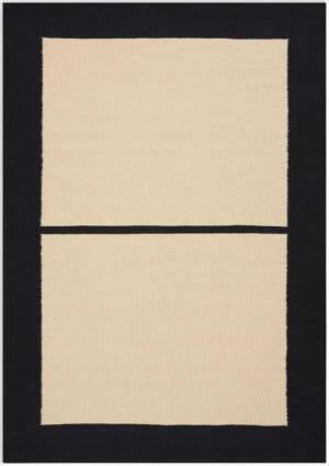 Calvin Klein Nashville Ck753 Ivory - Black Area Rug