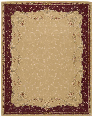 Nourison Grand Chalet CL-04 Gold Area Rug