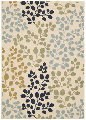 Nourison Carribean Crb01 Ivory Area Rug