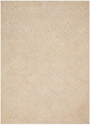Nourison Deco Mod Dec01 Taupe - Ivory Area Rug