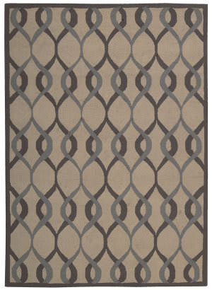 Nourison Decor Der04 Taupe Area Rug