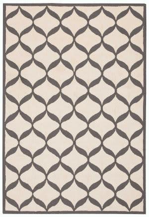 Nourison Decor Der06 White/Light Grey Area Rug