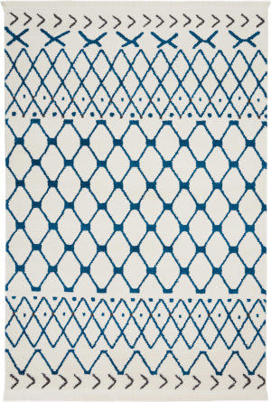Nourison Dws05 Kamala Ds500 White Blue Area Rug