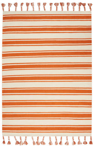 Nourison Rio Vista Dst01 Ivory - Orange Area Rug