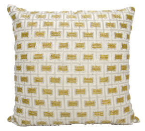 Nourison Luminescence Pillow E0172 White