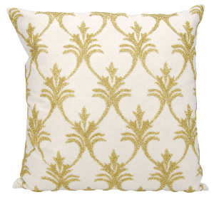 Nourison Luminescence Pillow E0831 Light Gold