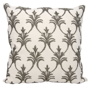 Nourison Luminescence Pillow E0831 Pewter