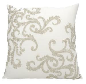 Nourison Luminescence Pillow E0943 Silver