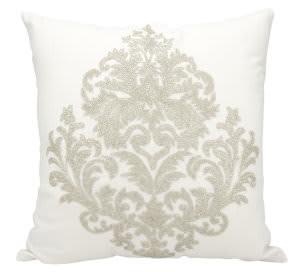 Nourison Luminescence Pillow E0998 Silver