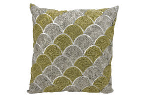 Michael Amini Pillows E1825 Silver Gold