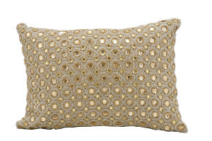 Kathy Ireland Pillows E4152 Beige