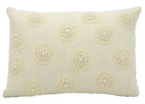 Kathy Ireland Pillows E4154 Ivory