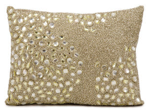 Nourison Pillows Luminescence E5000 Beige