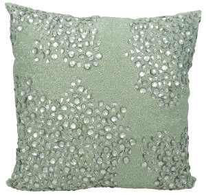 Nourison Luminescence Pillow E5000 Celadon