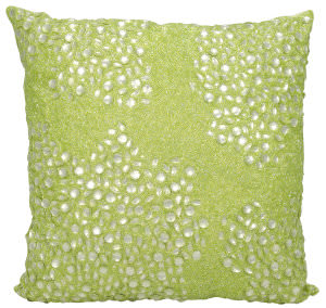Nourison Luminescence Pillow E5000 Celery