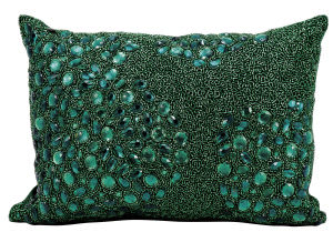 Nourison Pillows Luminescence E5000 Emerald