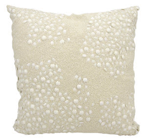 Nourison Luminescence Pillow E5000 Ivory