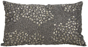 Nourison Luminescence Pillow E5000 Pewter