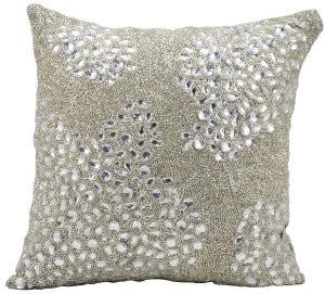 Nourison Luminescence Pillow E5000 Silver