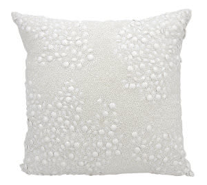 Nourison Luminescence Pillow E5000 White