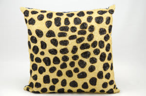 Nourison Pillows Luminescence E5281 Beige Black