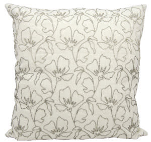 Nourison Pillows Luminescence E5551 Silver