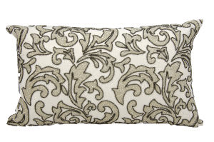 Nourison Pillows Luminescence E5553 Silver