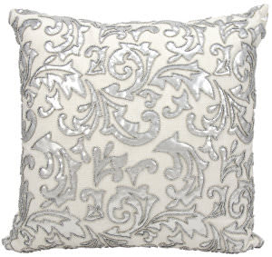Nourison Pillows Luminescence E5555 Silver