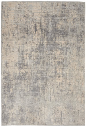 Nourison Rustic Textures Rus01 Ivory - Silver Area Rug