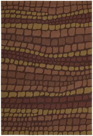 Nourison Fantasy FA-02 Brick Area Rug