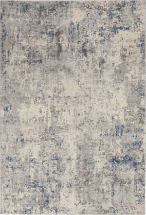 Nourison Rustic Textures Rus07 Ivory - Grey Area Rug