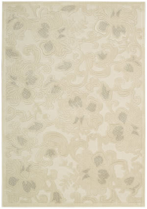Nourison Graphic Illusions GIL-02 Cream Area Rug