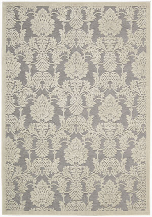 Nourison Graphic Illusions GIL-03 Nickle Area Rug