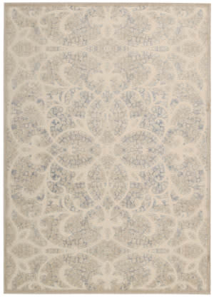 Nourison Graphic Illusions Gil05 Beige Sand Area Rug