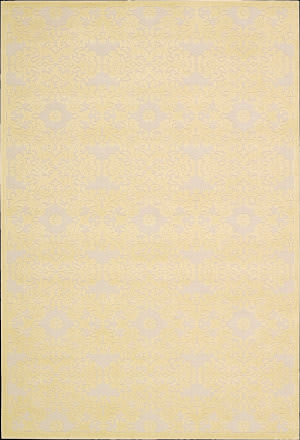 Nourison Graphic Illusions GIL-07 Yellow 605 Area Rug