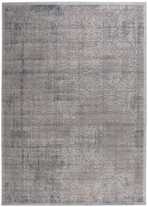 Nourison Graphic Illusions Gil09 Grey Area Rug