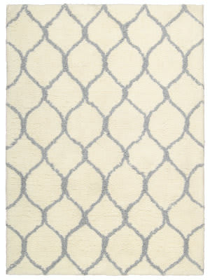 Nourison Galway Glw08 Ivory - Ash Area Rug