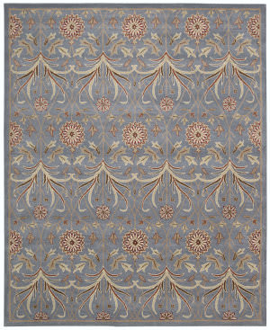 Nourison Grand Mahal Gr25 Light Blue Area Rug