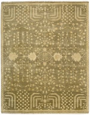 Nourison Grand Estate Gra02 Mushroom Area Rug