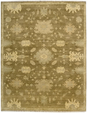 Nourison Grand Estate Gra03 Tobacco Area Rug