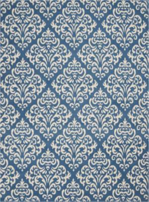Nourison Grafix Grf06 Blue Area Rug